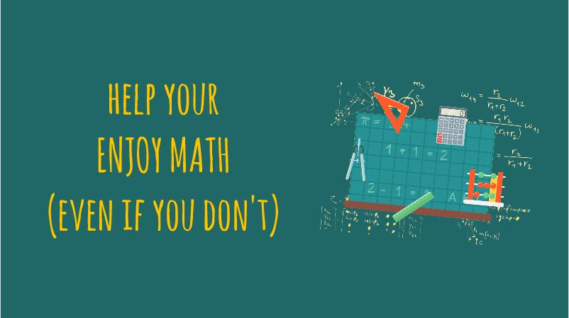 help your child enjoy math